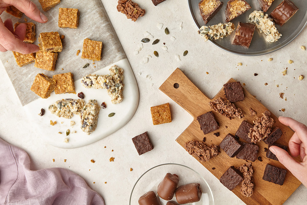 Premium, indulgent snacks perfect for sharing Park Cakes Bakery